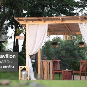 DIY ศาลานั่งเล่นในสวน ทำเองได้ง่ายๆงบไม่บาน 17 - 100 Share+