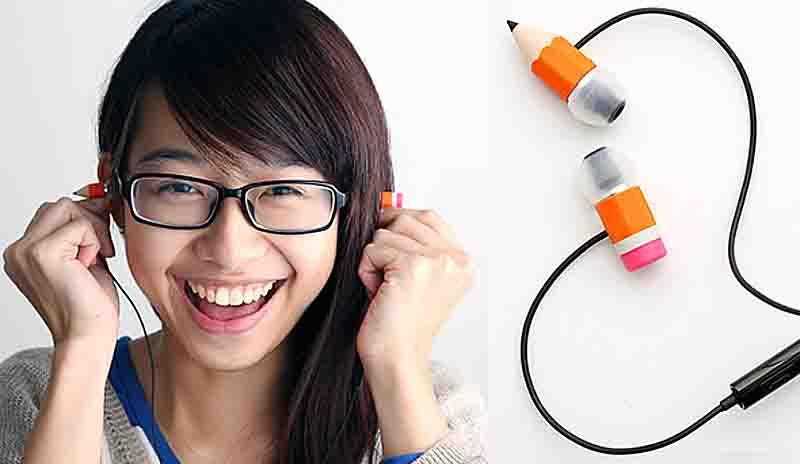 pencil earphones 3 Magic Pencil Earphones