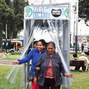 A Giant Air Purifier For a City in Peru ซุปเปอร์ต้นไม้ 25 - Air