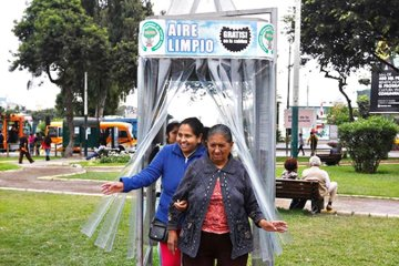 A Giant Air Purifier For a City in Peru ซุปเปอร์ต้นไม้ 14 - Air
