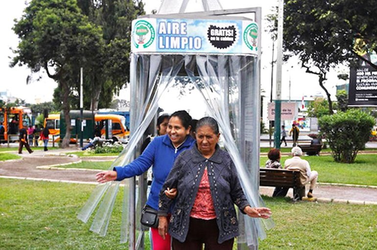 A Giant Air Purifier For a City in Peru ซุปเปอร์ต้นไม้ 14 - HEALTH