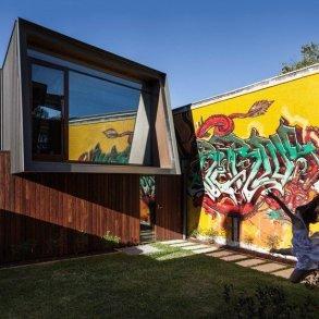 บ้านในเมือง ที่นำเอา งานGraffiti มาเป็นองค์ประกอบของบ้าน 22 - Graffiti