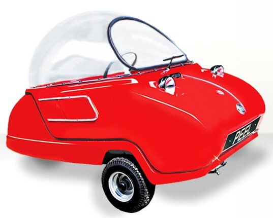Peel P50 รถไฟฟ้าที่เล็กและน่ารักที่สุดในโลก! 3 - Car