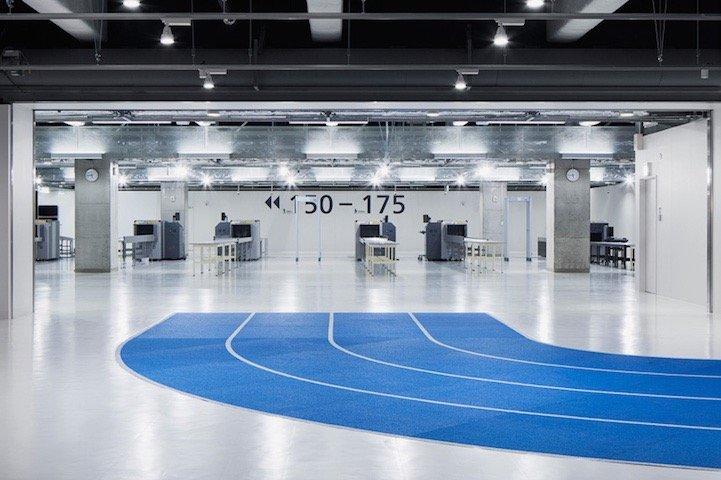 สนามบินNaritaในโตเกียว เปลี่ยนทางเลื่อนเป็นลู่วิ่งเพื่อต้อนรับโอลิมปิค2020 17 - airport