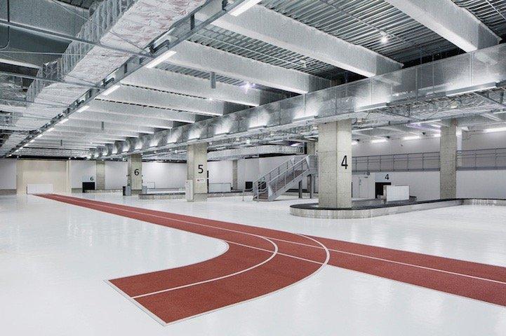 สนามบินNaritaในโตเกียว เปลี่ยนทางเลื่อนเป็นลู่วิ่งเพื่อต้อนรับโอลิมปิค2020 18 - airport