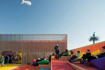 เมื่อไอทียักษ์ใหญ่อย่าง Microsoft รื้อบู๊ทเก่ามาทำที่จัดอีเว้นท์แบบชิลๆชื่อ Technology Pavilion 2 - Microsoft Technology Pavilion