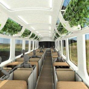 รถไฟที่ใช้เทคโนโลยีจากNASA เพื่อสร้างอากาศบริสุทธิ์แบบธรรมชาติภายในรถ 26 - NASA