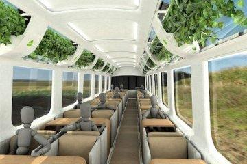 รถไฟที่ใช้เทคโนโลยีจากNASA เพื่อสร้างอากาศบริสุทธิ์แบบธรรมชาติภายในรถ 10 - NASA