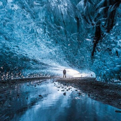 Northern Lights Ice Cave in Iceland ถ้ำน้ำแข็งที่ไม่มีวันละลาย 20 - Ice cave