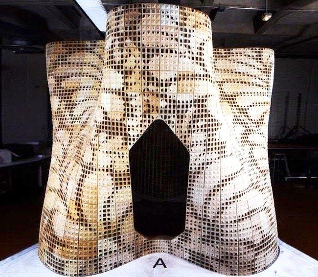 บ้านแห่งอนาคต สร้างด้วยเทคโนโลยีการพิมพ์ 3 มิติ 19 - 3D