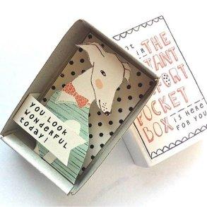 ไอเดียกล่องส่งสารจากใจ ทำจากกล่องไม้ขีดเล็กๆ..มอบความสุขให้ผู้รับ 26 - Art & Design