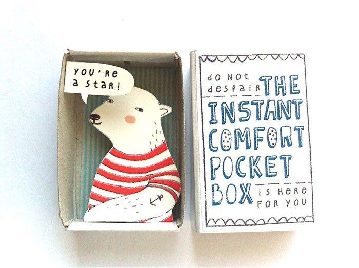 ไอเดียกล่องส่งสารจากใจ ทำจากกล่องไม้ขีดเล็กๆ..มอบความสุขให้ผู้รับ 17 - Art & Design