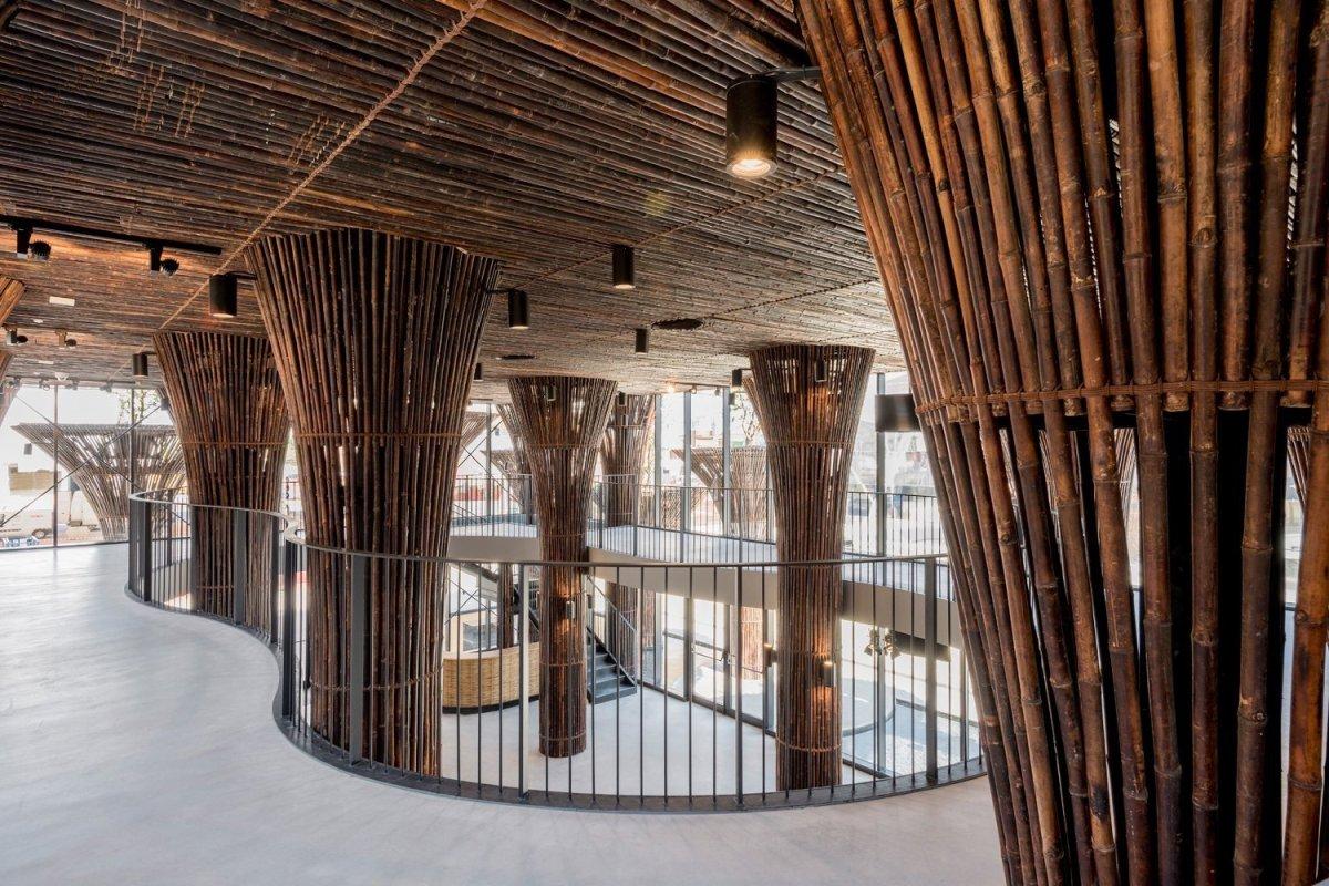 สร้างเมืองให้เหมือนป่า เพิ่มพลังชีวิตให้เมือง Vietnam Pavilion – Milan'15 17 -
