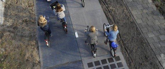 อนาคตเลนจักรยานอยู่ร่วมกับถนน..ใช้ผลิตพลังงาน ศึกษาแล้วคุ้มกว่าที่คาด 14 - green energy