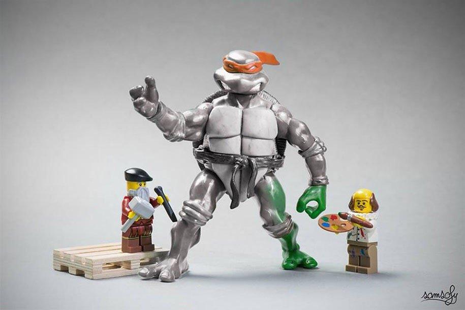 หวนคืนสู่โลกจินตนาการแบบเด็กๆ กับการถ่ายภาพ Lego 28 - Lego