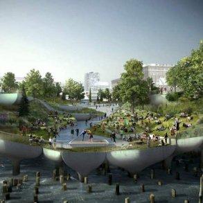 A New Floating Island Park โครงการการปรับปรุงท่าเรือให้เป็นสวนสาธารณะ 15 - Architecture