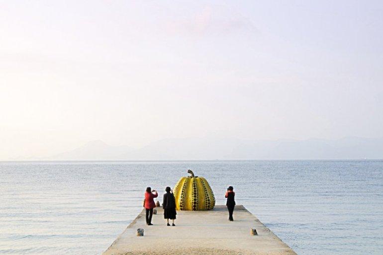 Japan's Art Island เกาะ Naoshima ที่จัดเต็มไปด้วยงานศิลปะ 28 - Japan