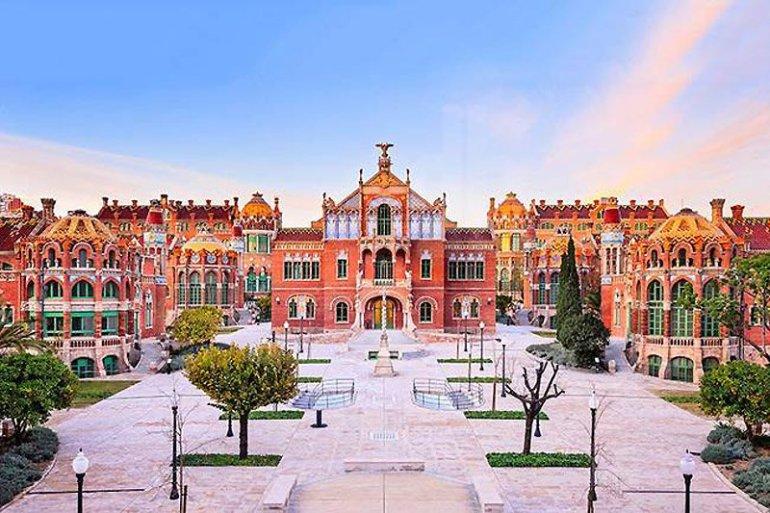 Sant Pau Hospital โรงพยาบาลแห่งเทพนิยาย 13 - Architecture