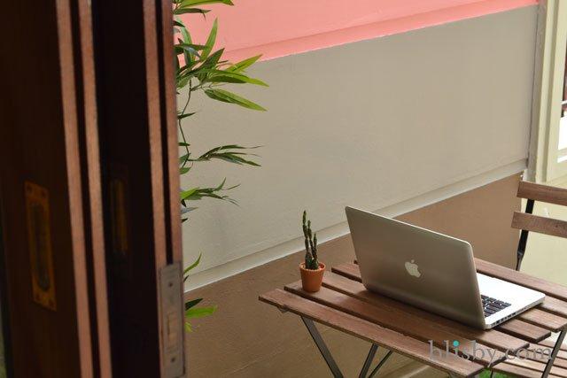 DIY : มุมนั่งเล่นนอกบ้านสีหวานเย็น 14 - Painting