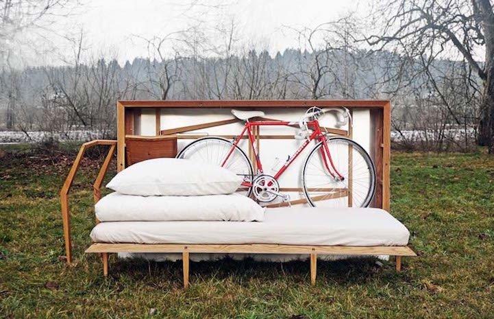 Travelbox เฟอร์นิเจอร์พกพาระดับห้องพักโรงแรม..มีครบแม้กระทั่งจักรยาน 15 - ท่องเที่ยว