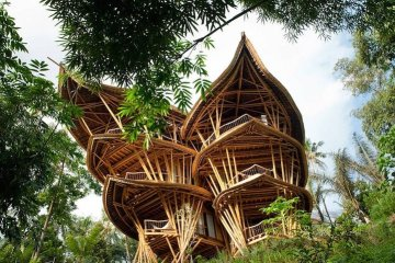 แนวคิดส่งเสริมบ้านไม้ไผ่ที่บาหลี.. ยั่งยืน สวยงาม และทนทานต่อแผ่นดินไหว