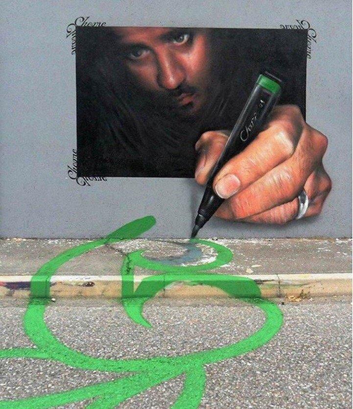 Street Art ที่สร้างเรื่องราวกับสิ่งแวดล้อมได้อย่างสนุก..กระแทกสายตา 13 - Interactive