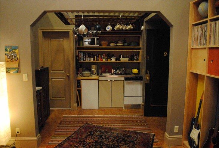 """แบบบ้านสุดเล็กแต่ใช้พื้นที่สุดคุ้มเพียง14 ตรม. จากซีรีย์ """"Girl"""" ทาง HBO 18 - Apartment"""