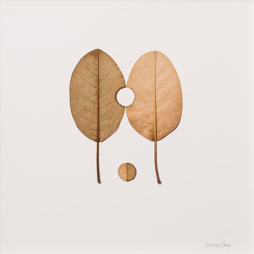 ศิลปะการถักทอ บนใบไม้.. สมดุลระหว่างความบอบบาง และแข็งแกร่ง 29 - Art & Design