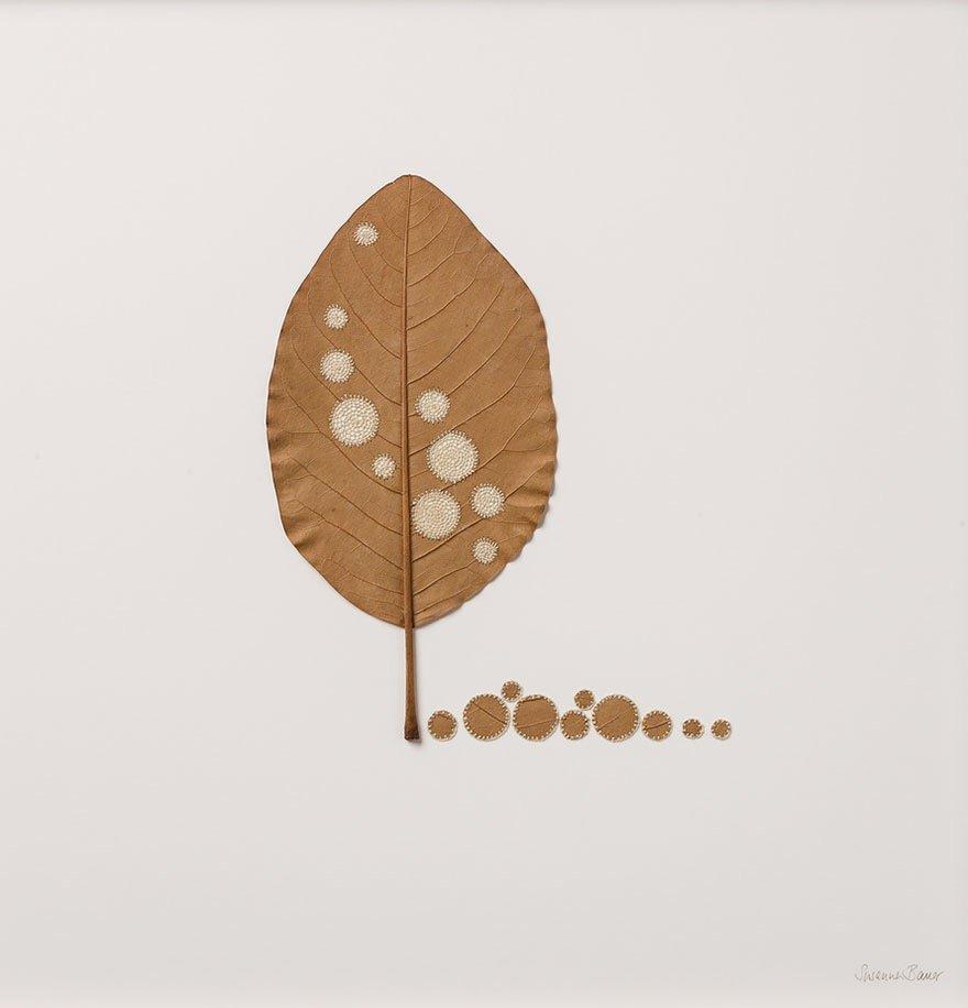ศิลปะการถักทอ บนใบไม้.. สมดุลระหว่างความบอบบาง และแข็งแกร่ง 30 - Art & Design