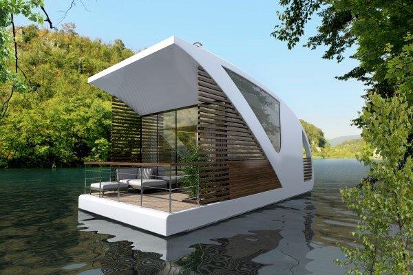 Floatel..โรงแรมแพลอยน้ำ ดีไซน์สุดเดิ้น! 13 - floating house
