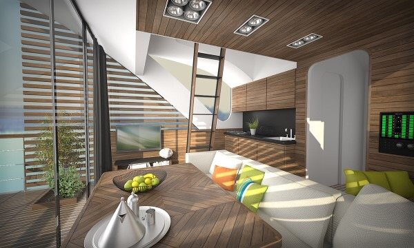 Floatel..โรงแรมแพลอยน้ำ ดีไซน์สุดเดิ้น! 17 - floating house