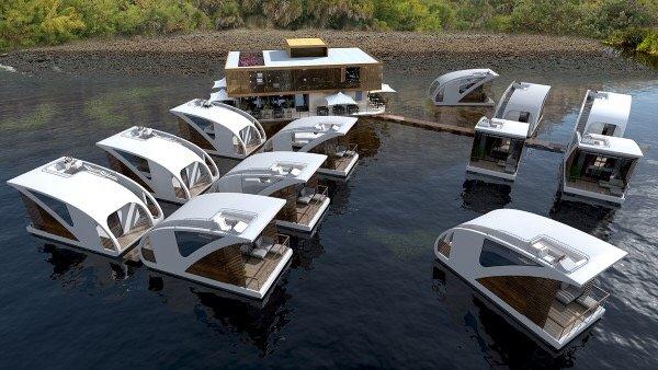 Floatel..โรงแรมแพลอยน้ำ ดีไซน์สุดเดิ้น! 18 - floating house