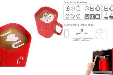 I-Coffee Machine เครื่องทำโฟมอาร์ตบนกาแฟ 13 - barista