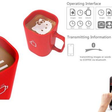I-Coffee Machine เครื่องทำโฟมอาร์ตบนกาแฟ 14 - barista