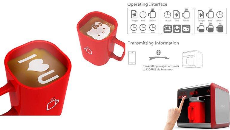 I-Coffee Machine เครื่องทำโฟมอาร์ตบนกาแฟ 28 - Coffee