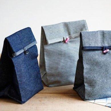 DIY: ถุงผ้าใส่กล่องอาหารกลางวัน 19 - กระดุม