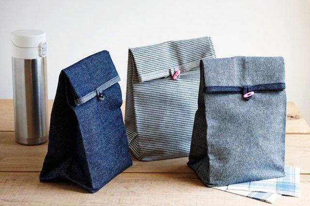 DIY: ถุงผ้าใส่กล่องอาหารกลางวัน 13 - กระดุม
