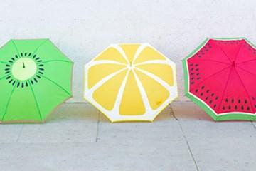 DIY: ระบายสีร่มรับฤดูฝน 14 - Painter's tape
