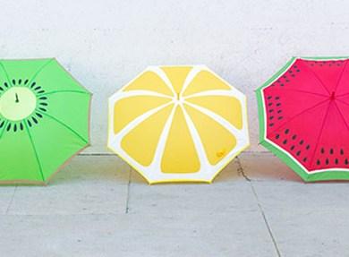 DIY: ระบายสีร่มรับฤดูฝน 16 - Painter's tape