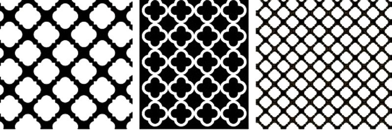 Geometric-patterns-design-quatrefoil
