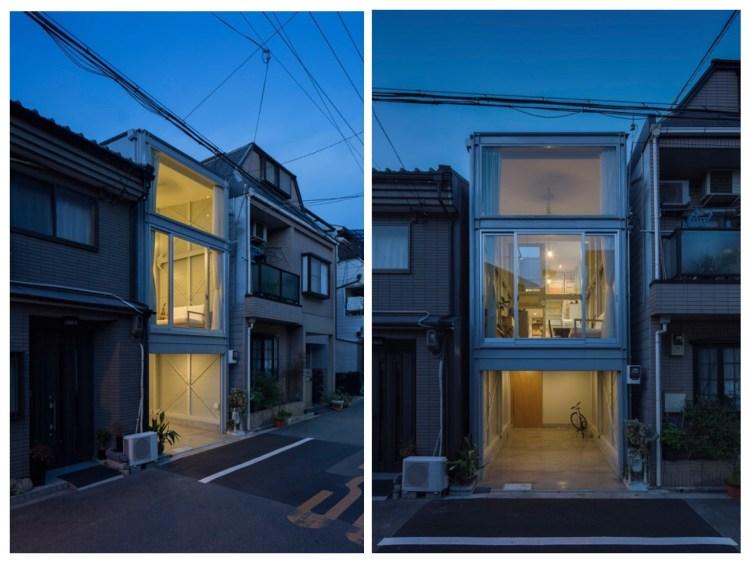 บ้านที่เกิดจากพื้นที่ระหว่างอาคาร กว้างเพียง 3.4 เมตร 22 - Japan