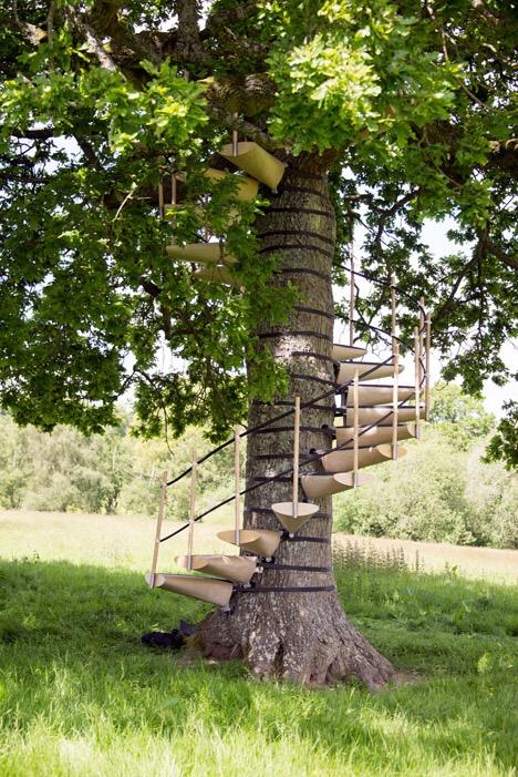 CanopyStair..ปีนบันไดขึ้นต้นไม้.. 13 - Royal College of Art