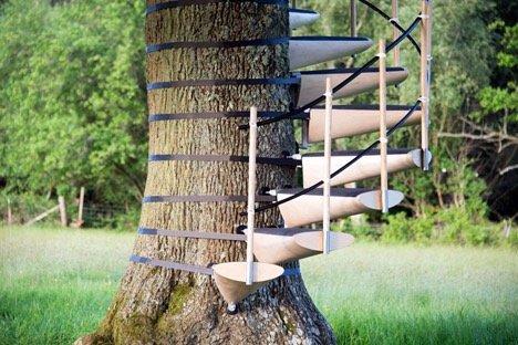 CanopyStair..ปีนบันไดขึ้นต้นไม้.. 18 - Royal College of Art