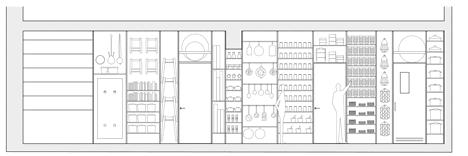 เก็บทุกอย่างไว้ที่ผนัง เพื่อให้มีความยืดหยุ่นในการใช้พื้นที่ได้ตามต้องการ 30 - Art & Design