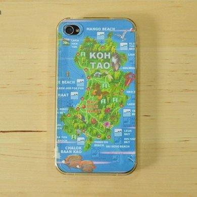 DIY : เคสโทรศัพท์ลายแผนที่ ต่อไปนี้ไม่มีหลงทาง 14 - iPhone