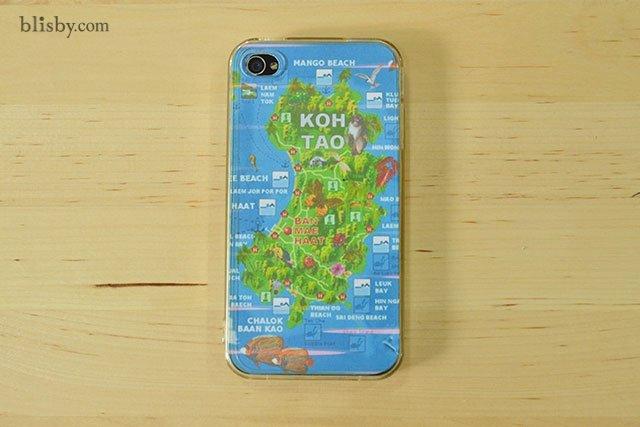DIY : เคสโทรศัพท์ลายแผนที่ ต่อไปนี้ไม่มีหลงทาง 25 - iPhone