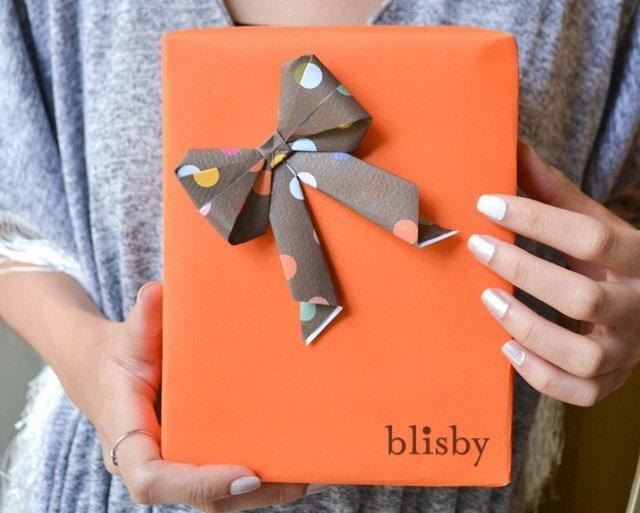 DIY : โบกระดาษ สำหรับทุกเทศกาล 28 - Gift