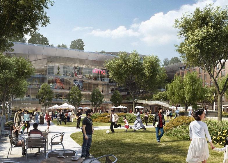 เปลี่ยนหลังคาห้างเก่าเป็นพื้นที่สีเขียวที่ใหญ่ที่สุดในโลกที่ Silicon Valley 19 - Garden