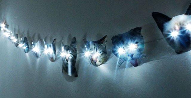DIY: ไฟราวหน้าแมวเหมียว 17 - แมว
