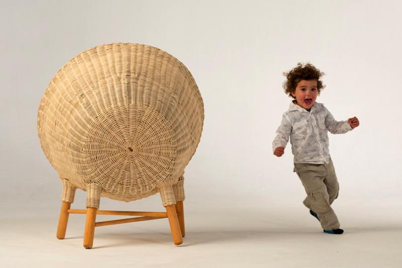 domus vivanco Luna Pod 04 เฟอร์นิเจอร์สำหรับเด็ก เป็นทั้งของเล่น และสร้างความทรงจำอันแสนสนุก